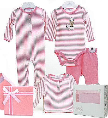 Little Bundles Owl Girl Set