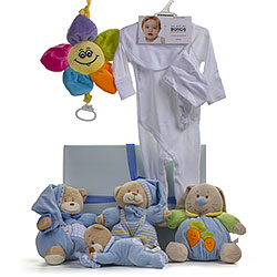 Bonds Baby Boy Teddy Bear Gift Set