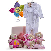 Bonds Baby Girl Teddy Bear Gift Set