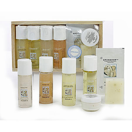 Aromababy Organic Essentials Baby Gift Pack