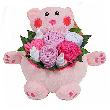 Bear Bouquet for a Girl