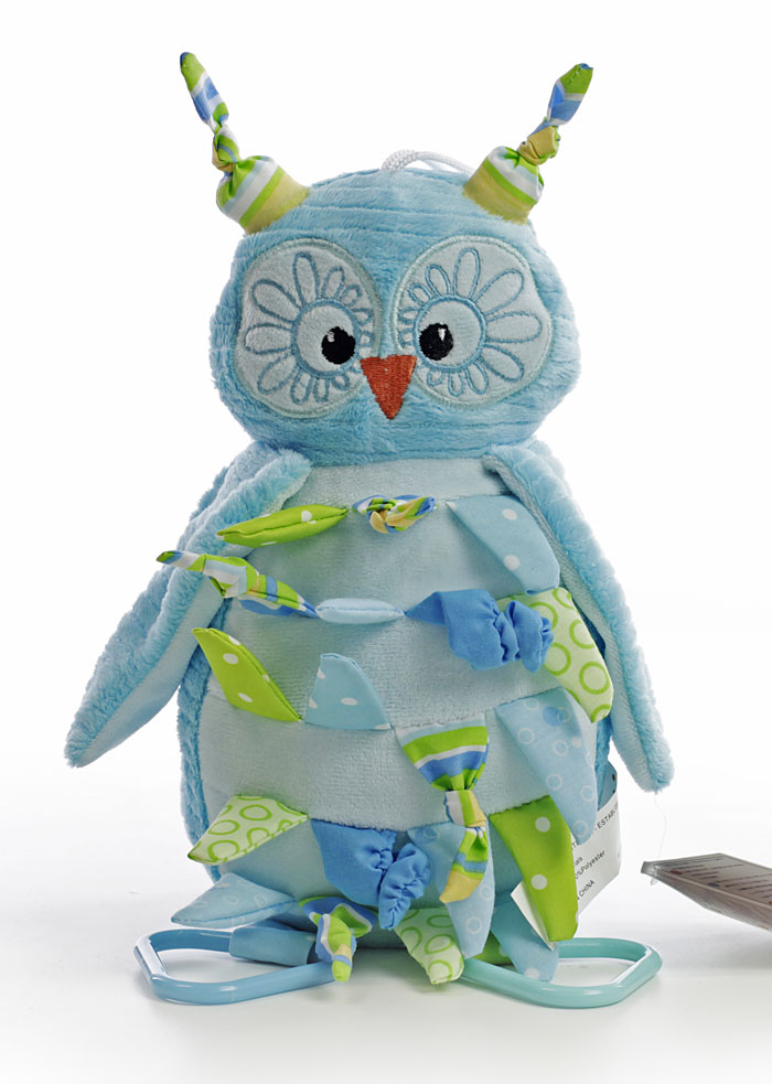 Blue Owl Baby Bouquet