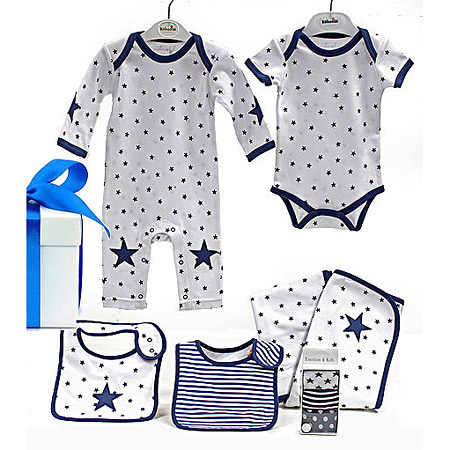 Emotion and Kids Blue Star Gift Set