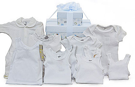 Bonds Boy Gift Set in Whites