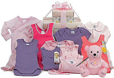 Bonds Girl Gift Set with Bear