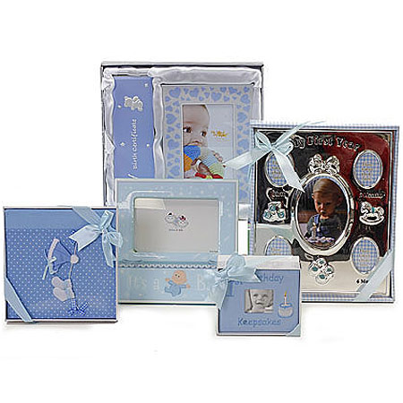 Large Baby Boy Album Set