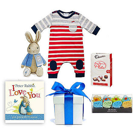Spring Boy Baby Hamper