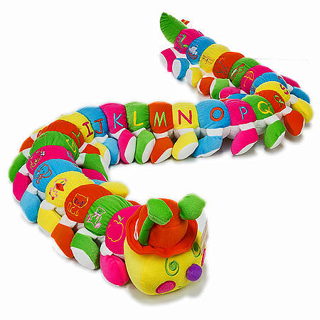 Bright Unisex Caterpillar in Assorted Colours