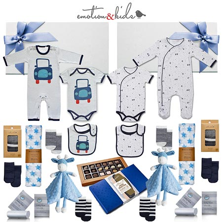 Deluxe Twin Boy Hamper