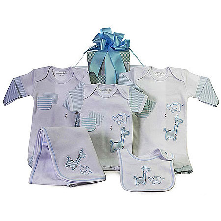 Emotion and Kids Light Blue Gift Set
