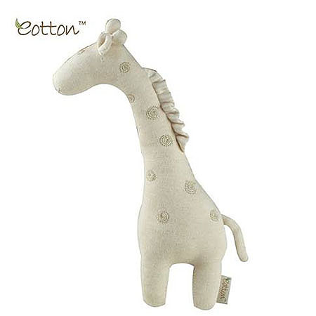 Eotton Organic Giraffe Plush Toy
