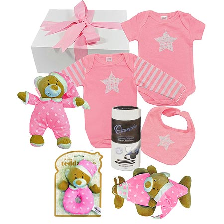 Large Bright Star Girl Hamper