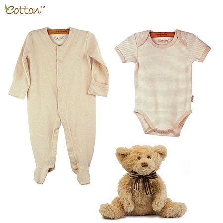 Organic Cotton Unisex Coverall & Romper