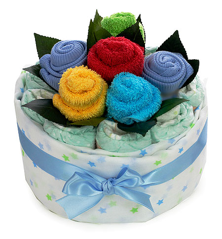 Colourful Bouquet for a Baby Boy