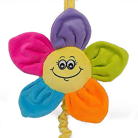 Bright Musical Flower with Smile