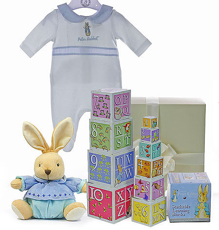 Peter Rabbit Gift Set with Learning Blocks