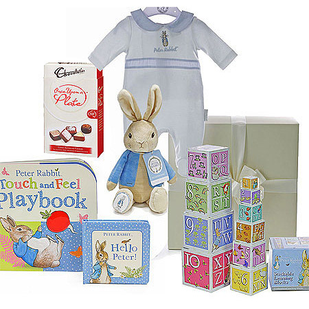Peter Rabbit Hamper for a Boy