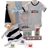 Train Baby Gift Hamper