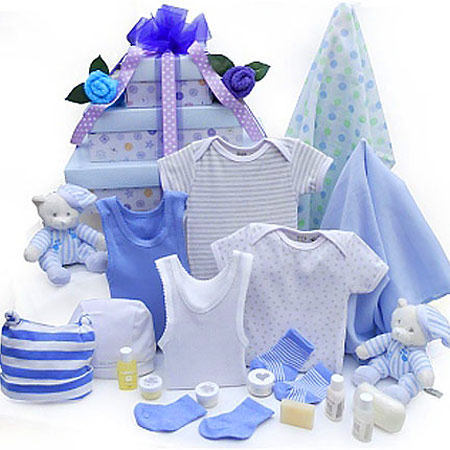 Baby Boy Twin Gift Set