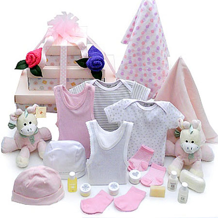 Baby Girl Twin Gift Set