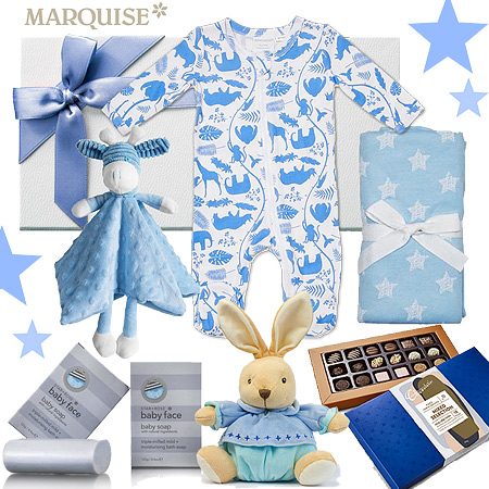 Marquise Animals in Blue