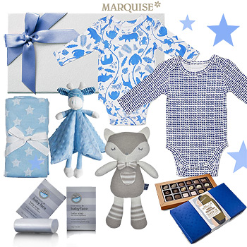 Marquise Deluxe Animals in Blue