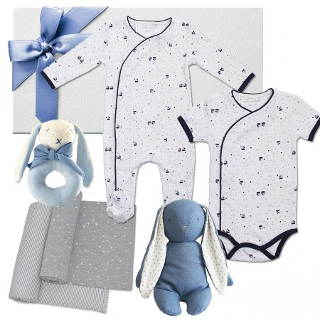 Deluxe Navy Baby Hamper by Emotion & Kids
