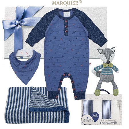 Marquise Baby Hamper for a Boy