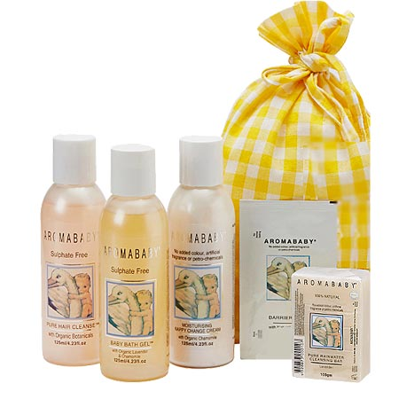 Aromababy Organic Essentials Kit