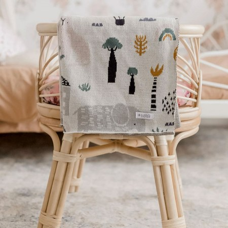 Asher Animals Blanket