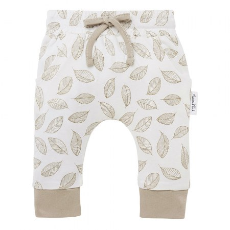 Aster & Oak Leaf Drop Harem Pants