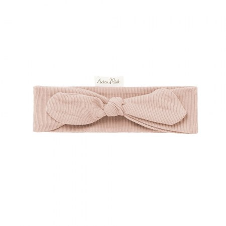 Aster & Oak Cameo Rose Rib Headband