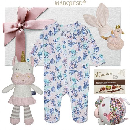 Marquise Floral Baby Girl Gift