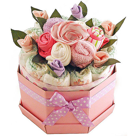 Baby Girl Bouquet Large