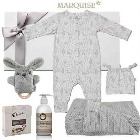 Marquise Growsuit & Beanie Hamper