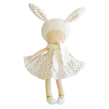 Alimrose Belle Bunny with Gold Spots 31cm