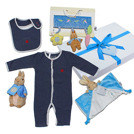 Peter Rabbit Sailor Gift Set for a Boy