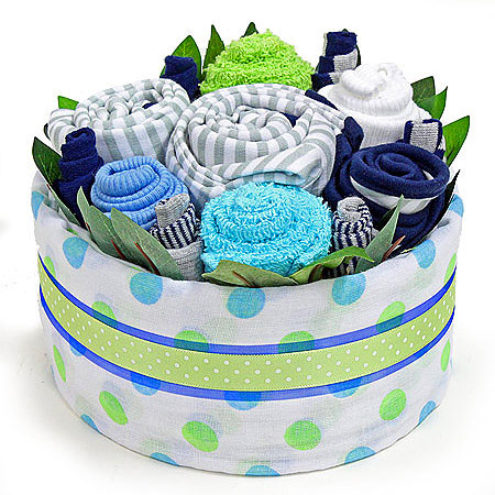 Blue Car Gift Set Bouquet