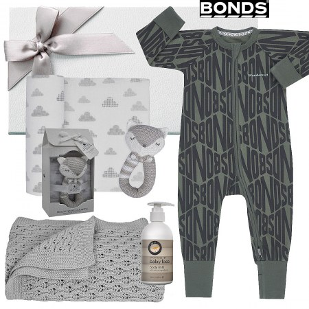 Bonds Diamond Logo Baby Hamper
