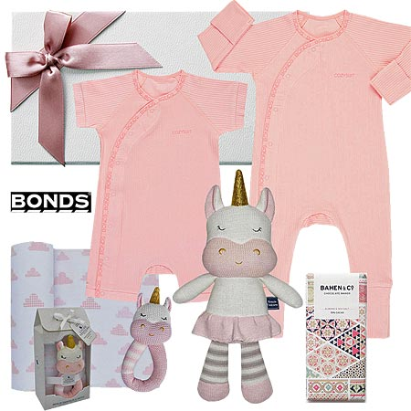 Bonds Baby Girl Hamper
