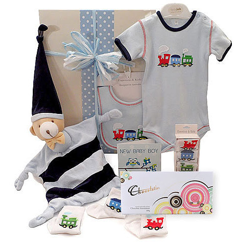 Emotion and Kids Train Gift Set