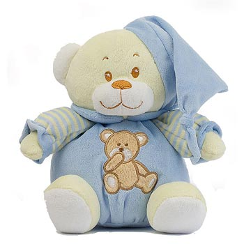 Buttercup Bear in Blue