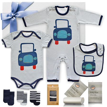 Blue Car Gift Set for Boys
