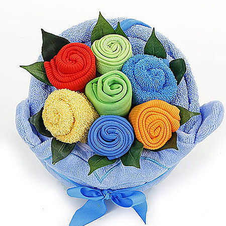 Bright Colourful Boy Bouquet