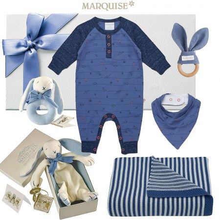 Marquise Navy Baby Gift Hamper