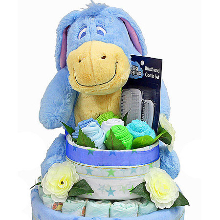 Eeyore 2 Tier Nappy Cake