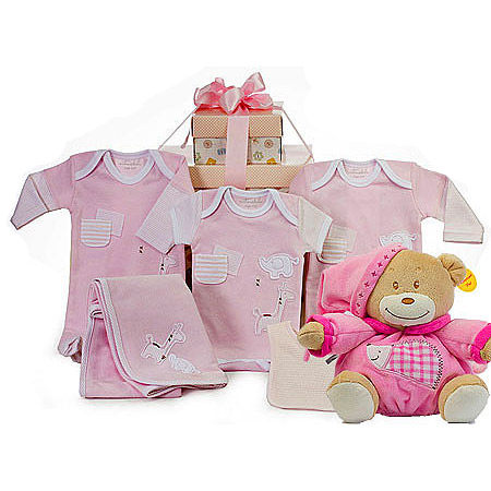 Emotion and Kids Gift Set with Bear