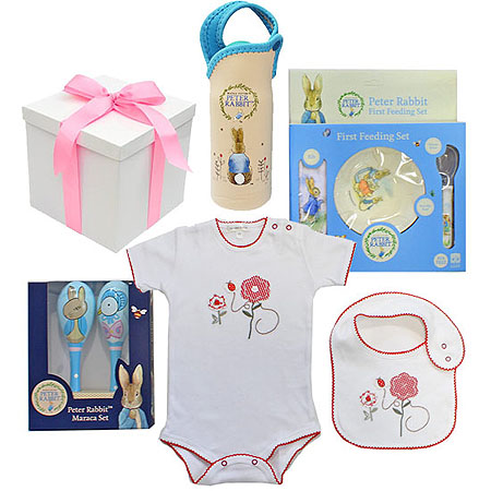 Peter Rabbit Hamper for a Girl
