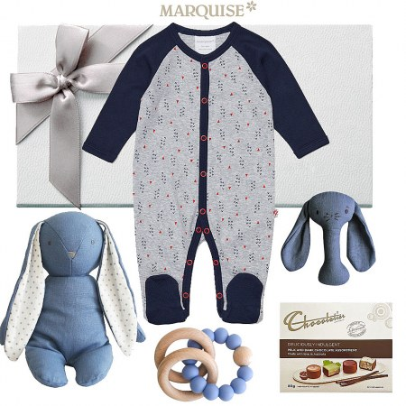 Marquise Off Road Footed Growsuit Hamper