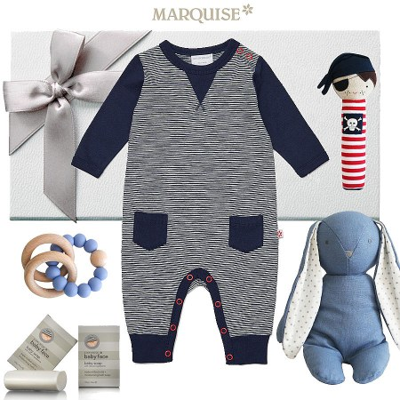 Marquise Off Road Growsuit Hamper for a Boy